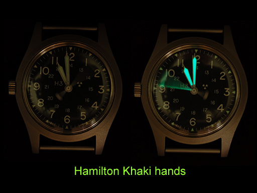 Hamilton with Khaki hands